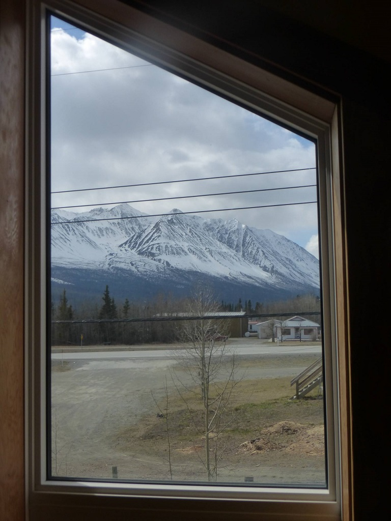 The view from Dining Room, Wanderer's Inn Hostel, Apr 2015