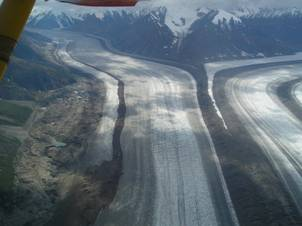 Glacier Flight over Kluane National Park and Reserve